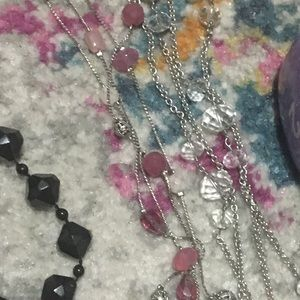Jewelry - Silver necklace bundle